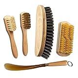 I.P.P.A. Set für die Reinigung und Pflege der Schuhe. Borsten für Schuhcreme +...