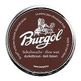 Burgol Palmenwachs-Schuhcreme, 100ml, dunkelbraun