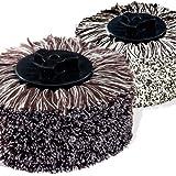 HOBERG 2-teiliges Baumwoll-Ersatzbürsten-Set für Comfort Clean...